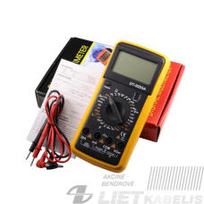 Matavimo prietaisas DT-9205A
