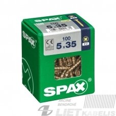 Medvaržtis SPAX  5.0x35 Z2 geltonas