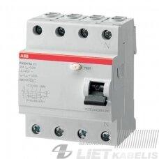 Nuotėkio rėlė, FH204 AC-40A/0,03 ABB