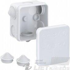 Paskirstymo dėžutė HP 70-L (75x75x42mm) virštinkinė, IP55, Spelsberg