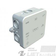 Paskirstymo dėžutė virštinkinė,  A8(75x75x36)IP55 pilka OBO
