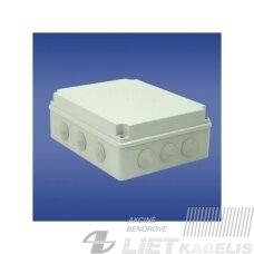 Paviršinė hermetinė dėžutė PH-4A.3 248x198x86 IP65, Elektroplast