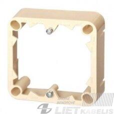 Paviršinio montažo dėžė, PMD-001 atskira, smėlio sp., Alfa
