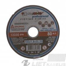 Pjovimo diskas 125x1.0x22 14A