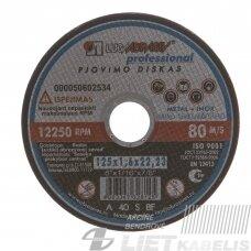 Pjovimo diskas 125x1.6x22 14A