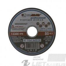 Pjovimo diskas 230x2.0x22 14A