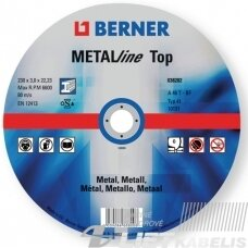 Pjovimo diskas Metalline TOP 125x1.0x22 Berner
