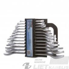 Plokščių raktų rinkinys 6-32mm,12vnt., Vagner