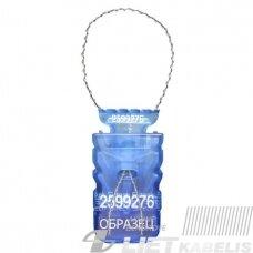 Plomba vienkartinė, apsauginė Siltech M(mėlyna)