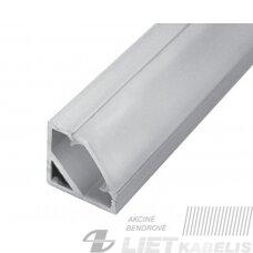 Profilis aliuminis LED juostoms kampinis CORNER 45 2m