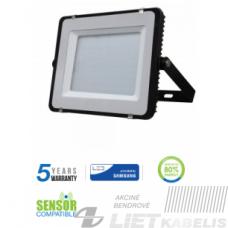 Prožektorius, LED SMD SLIM 150W 4000K IP65 juodas, V-TAC
