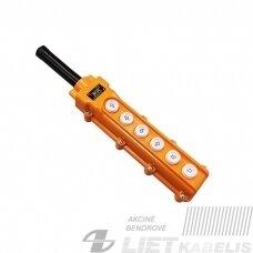 Pultas valdymo PKT-60 6 mygtukai, IP54, Texenergo