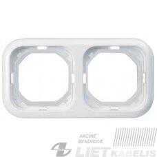 Rėmelis 2 vietų, PK-2 Prodax, baltas