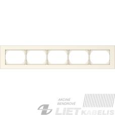 Rėmelis 5 vietų, R05 smėlio sp., XP500