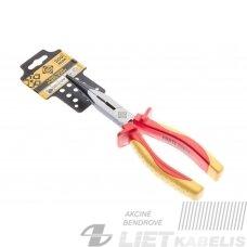 Replės, smailios VDE 01003-8 200mm, Forte tools