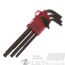 Šešiakampių raktų rinkinys 9 vnt.35500900/1, Felo