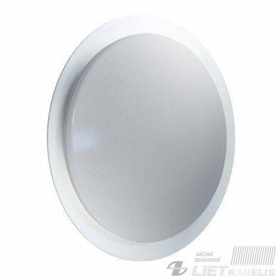 LED šviestuvas ORBIS SPARKLE REMONTE-CCT apvalus su nuotolinio valdymo pulteliu 28W, 2800-6500K, 2600Lm, IP20, Ledvance 4