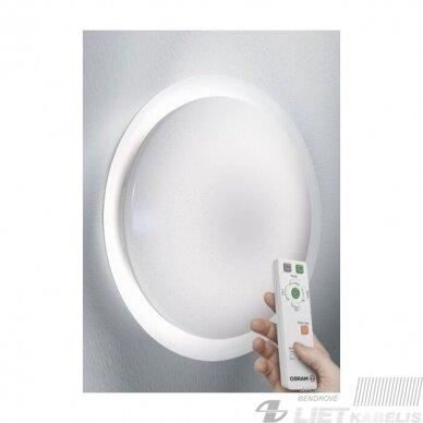 LED šviestuvas ORBIS SPARKLE REMONTE-CCT apvalus su nuotolinio valdymo pulteliu 28W, 2800-6500K, 2600Lm, IP20, Ledvance