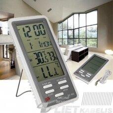 Termometras-higrometras Digital DC-803 (vidaus/lauko)