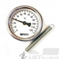 Termometras su spyruokle TCM 63mm