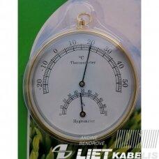 Termometras/higrometras ZLJ-065 AL