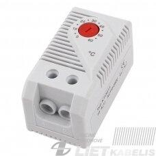 Termostatas  KTO 011 250VAC 10A NC (šildytuvui)