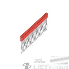 Trumpiklis gnybtams 20 kontaktų ZQV 2.5N/20 raudonas, Weidmuller