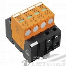 Viršįtampių ribotuvas VPU (B+C) 4 12,5Ka 4P, 280V/40kA, Weidmuller