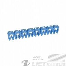 Žymėjimas kabeliui 0.5/1.5'6', mėlynas